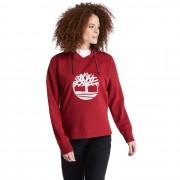 Timberland Sweat À Capuche Avec Logo Réfléchissant Pour Femme En Rouge Rouge, Taille XS