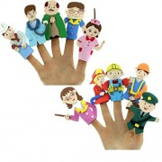 Finger Puppet Eva Community Helpers Educational Toy Story Telling Aid