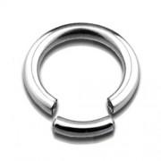 Helixpiercing hoge kwaliteit segment ring 1.2draaddikte x 8mm