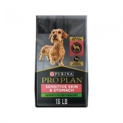 Purina Pro Plan Focus Small Breed Adult Sensitive Skin & Stomach Formula Dry Dog Food, 16-lb bag