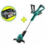 Akumulatorski trimer za travu Bosch ART 26-18 LI + akumulator 18 V/2,5 Ah