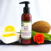 Lapte demachiant natural - QI Cosmetics Longeviv.ro