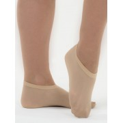 Ladies 60 Pack Footlets - Beige 2-8