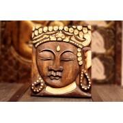 Faragott Buddha kép