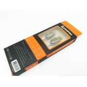 Cablu Date si Incarcare RONPIN Type-C Cablu Panza Culoare Alb pt Telefon Tableta