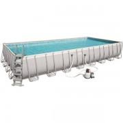Bestway Power Steel pool 53.231L 956x488x132 cm - Bestway Simbasäng 56623