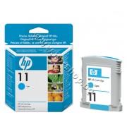 Мастило HP 11, Cyan, p/n C4836A - Оригинален HP консуматив - касета с мастило