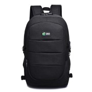 17L USB Charging Backpack Multifunctional Waterproof Guard Against Theft Travel 15 Inch Laptop Bag