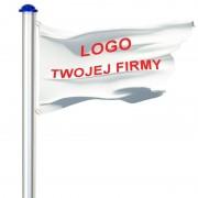 Maszt Aluminiowy Flagowy Reklamowy Reklama 6,5m