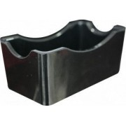 Suport dreptunghiular melamina RAKI pliculete zahar 6 5x12x5cm negru