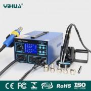 YIHUA 992DA 3in1 - професионална станция за запояване за ремонт на мобилни устройства и електроника