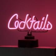 COCKTAILS Neonové světlo