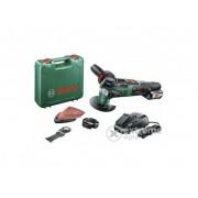 Unealta multifunctionala Bosch AdvancedMulti 18 + aspirator Bosch PAS 18 LI (fara acumulator si incarcator)