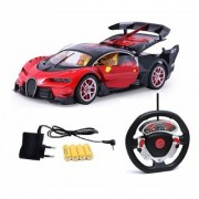 Bugatti Style Steering Remote Control Car with Openable Doors and Rechargable Batteries Assorted