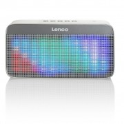 Lenco Portable Bluetooth Stereo Speaker BT-200 Light Grey