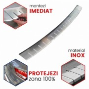 Protectie prag portbagaj inox Volkswagen Caddy fabricatie 2004-2014