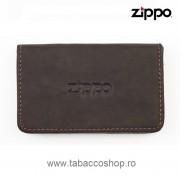Portofel din piele Zippo Business pentru carti de credit