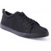 Shoe Mate Black Casual Shoes Casuals For Men(Black)