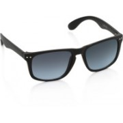 Joe Black Wayfarer Sunglasses(Blue, Grey)