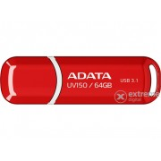 Pendrive ADATA 64GB, UV150 USB 3.1, Rosu
