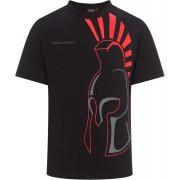GP-Racing 99 Spartan Helmet T-shirt Svart Grå Röd 6XL