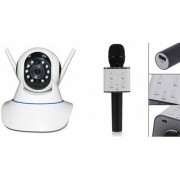 Mirza Wifi CCTV Camera and Q7 Microphone Karake With Bluetooth Speaker for LG OPTIMUS L1 II TRI(Wifi CCTV Camera with night vision |Q7 Microphone Karake With Bluetooth Speaker)