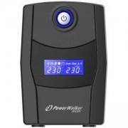 Аварийно захранване UPS POWERWALKER VI 600 STL, 600VA Line Interactive, POWER-UPS-VI600STL