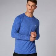Myprotein Performance tričko s dlouhým rukávem - Ultra modrý melír - L