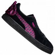 PUMA x Barbie Suede Classic Dames Sneaker 366337-01 - zwart - Size: 35,5