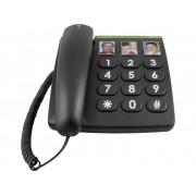 doro PhoneEasy 331ph Vaste seniorentelefoon Zwart
