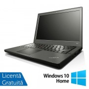 "Laptop Refurbished Lenovo Thinkpad x240 (Procesor Intel® Core™ i5-4300U (3M Cache, up to 2.90 GHz), Haswell, 12"", 8GB, 120GB SSD, Intel® HD Graphics 4400, Win 10 Home)"