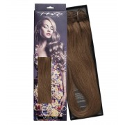 Poze Standard Löshår Clip & Go Miss Volume - 220g Lovely Brown 6B - 55cm