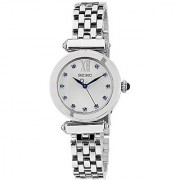 Seiko Analog White Dial Womens Watch - Srz399P1