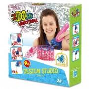 I do 3D Vertical rajzoló szett 4 tollal - lányos - I do 3D kreatív játékok