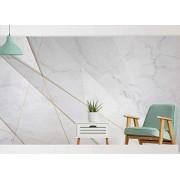 Fdjyg Papel Tapiz Fotográfico 3D Personalizado Mural Grande Moda Personalizada Nórdica Líneas Geométricas Abstractas Fondo De Mármol Pared Decoración Para El Hogar Papel Tapiz Mural Para Paredes Arte