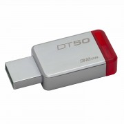 Pen Drive Kingston 32GB DataTraveler 50 (Metal/Red) USB 3.0 -DT50