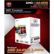 Amd 3.2 Ghz Fm2 A4 4020 Processor (Metal)