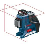 Линеен лазерен нивелир BOSCH GLL 2-80 P Professional, до 40-80м, L-Box