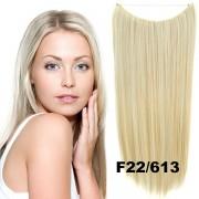Flip in vlasy - 55 cm dlouhý pás vlasů - odstín F22/613 - Světové Zboží