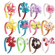 DIY 12 Headband Kit Educational Toys for Girls to Create Unique Hair Accessories Great Girl Gift and Craft for Girls