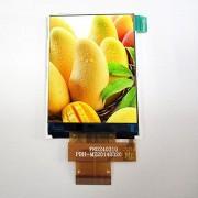 AMELIN táctil de 6.1 cm 240 x 320 TFT IPS LCD screen2.4 Pulgada 240320 12 o 'Clock visualización LCD TFT con Interfaz de MCU y ili9341 V IC Panel