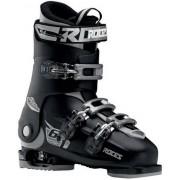 Roces Chaussures Ski Roces Idea Free 6-en-1 Ajustables pour enfants (Noir/Argent)