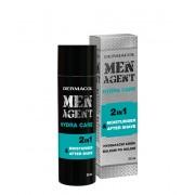 Dermacol Crem-gel de hidratare și balsam aftershave Men Agent (Moisturiser After Shave) 50 ml