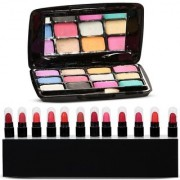 Color Diva Eyeshadow and Mini Lipstick Set of 13 GC569-By Adbeni