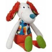 Jucarie bebelusi Ebulobo Mini Doll Antoine the Dog
