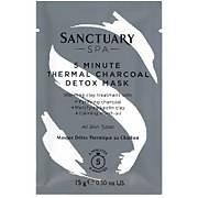Sanctuary Spa 5 Minute Thermal Charcoal Detox Mask Sachet 15g