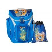 20018-1708 Ghiozdan Explorer LEGO Nexo Knights cu sac sport
