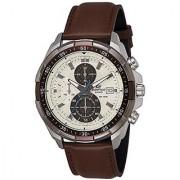 Casio Chronograph Beige Dial Mens Watch-Efr-539L-7Bvudf