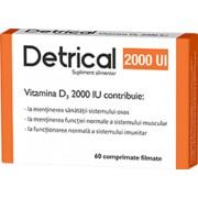 Detrical Vitamina D 2000 UI 60 comprimate