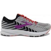 Brooks Launch 6 W - scarpe running neutre - donna - Grey/Pink